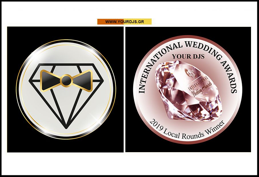 Η Your Djs κέρδισε το INTERNATIONAL WEDDING AWARD 2019